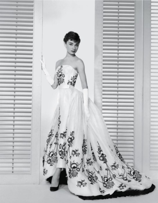 Audrey-Hepburn-ball-gown-Sabrina