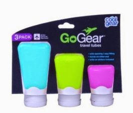 silicone travel tubes containers