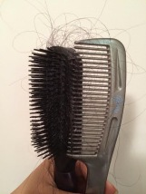 brush comb clean