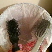 brush comb clean