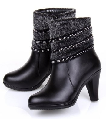 Free-shipping-designer-high-heel-shoes-leather-winter-boots-women-outdoor-keep-warm-Waterproof-ladies-boots