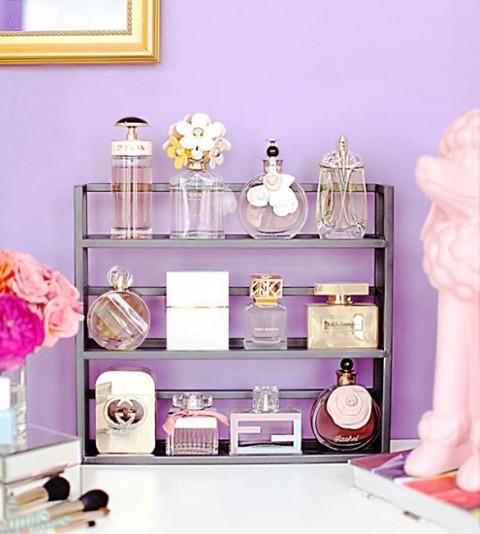 perfume organizer