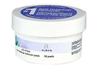 almay makeup remover pads