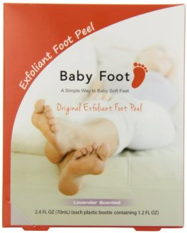 baby foot exfoliant food peel