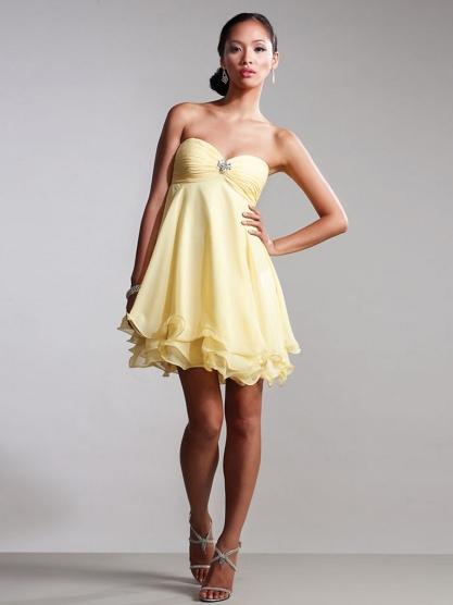 Chic-Sleeveless-Sweetheart-Neckline-Short-Strapless-Empire-Waistline-Party-Dresses--SG0888