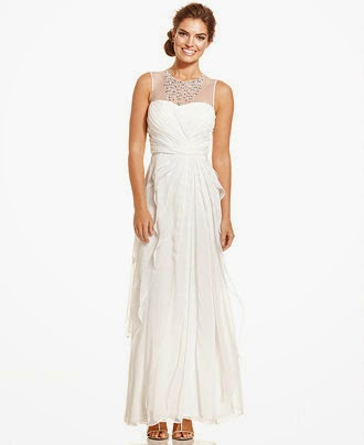 Above Wedding Dress By Adrianna Papell Macys Currently 183