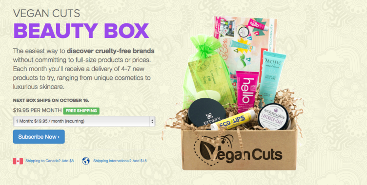 vegan cuts beauty box