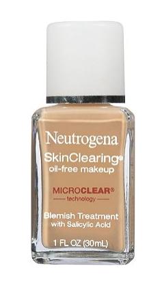 neutrogena oil free makeup foundation