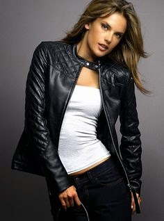 alessandra ambrosia leather jacket