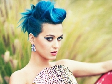 blue hair katy perry