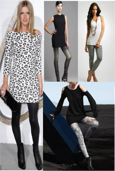 dresses with leggings