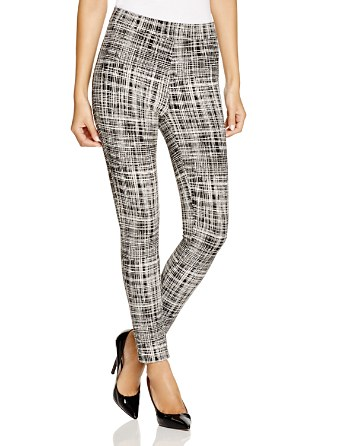 printed pants criss cross