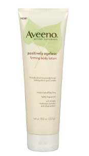 Aveeno Positively ageless firming body lotion.png