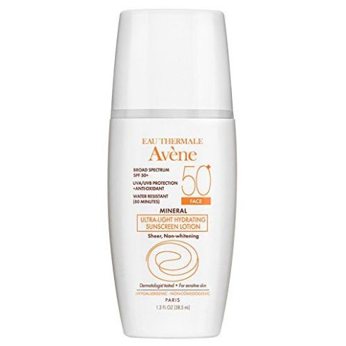 avene spf 50 ultra light hydrating sunscreen face lotion