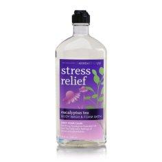 bath and body works stress relief body wash foam bath