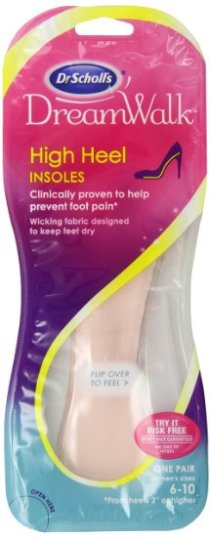 dr scholls high heel insoles gel inserts