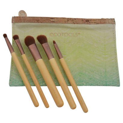 ecotools 6 piece eye makeup brush set