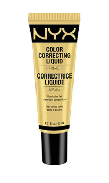 NYX color correcting liquid primer