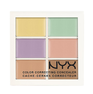 NYX Cosmetics color correcting concealer palette.png