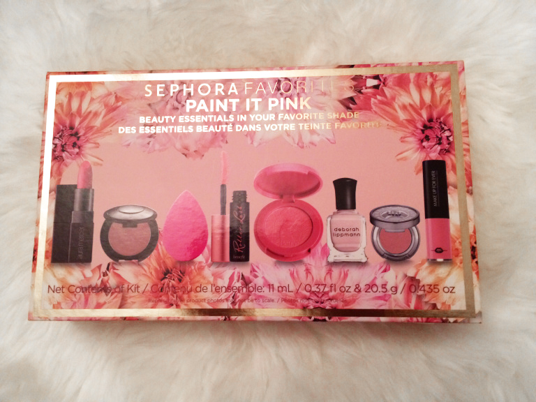 sephora favorites paint it in pink