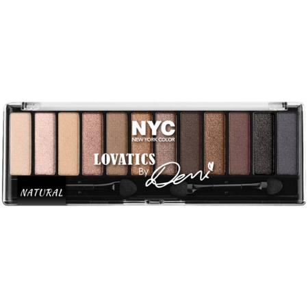 nyc color lovatics by demi eye shadow kit