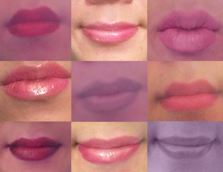 lip mosaic