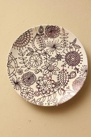 sharpie plate