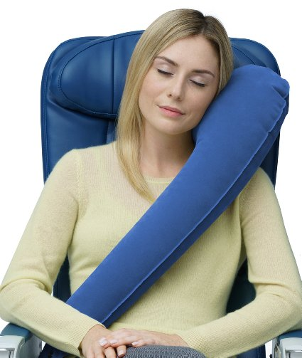 travel woman pillow