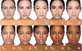 warm neutral cool skin tones