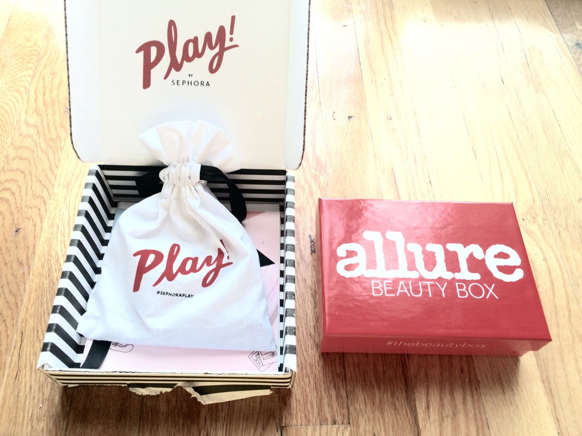 Battle Of The Boxes: Allure Beauty Box vs. Play! by Sephora!  Which One Is Better?