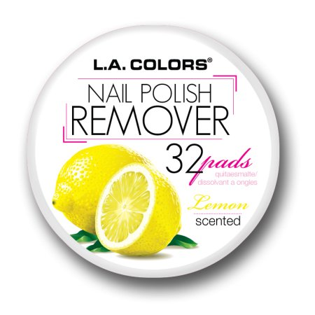 la colors nail polish remover