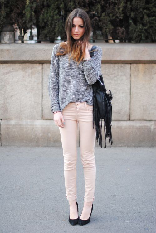 girl sweater tucked in pants.jpg