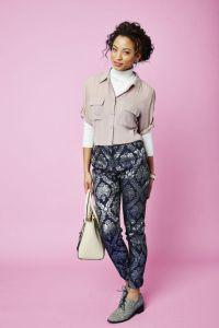 blouse turtleneck