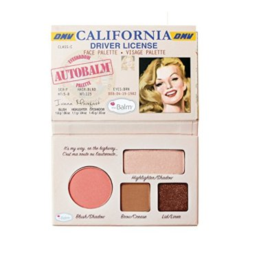 the balm autobalm face palette