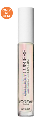 infallible l'oreal galaxy lumiere holographic lip gloss.png