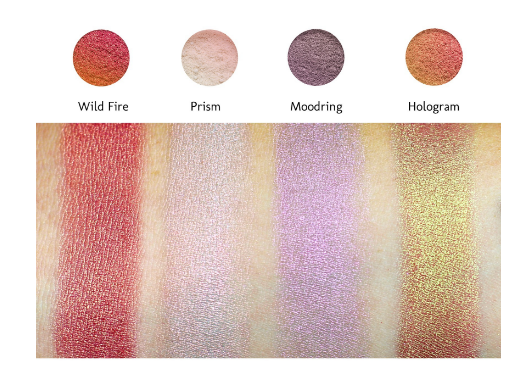 Makeup geek duochrome pigments
