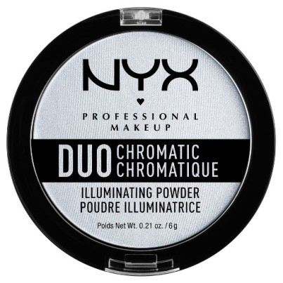 NYX duo chromatic illuminating powder twilight tint