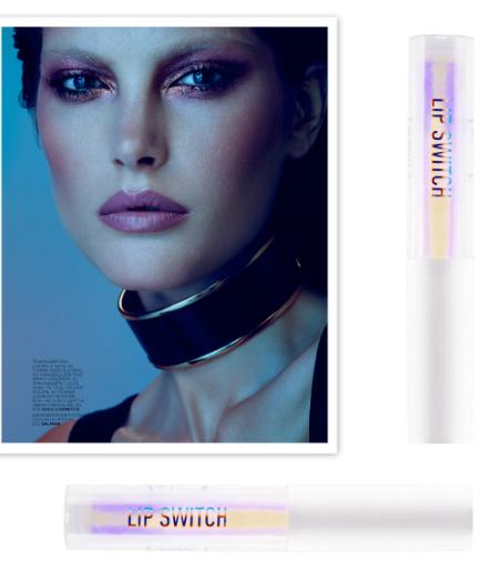Sigma beauty lip switch lip gloss holographic