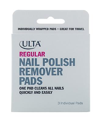 ulta nail polish remover pads
