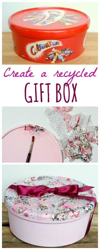 cookie tin gift box