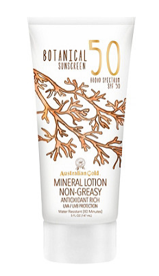 australian gold sunblock non greasy lotion