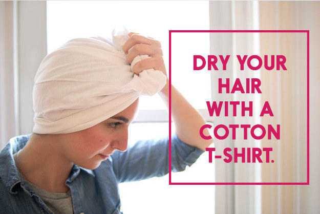dry hair with a cotton t shirt.jpg