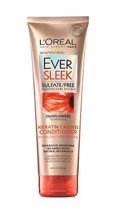 l'oreal ever sleek keratin caring conditioner