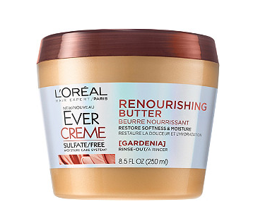 l'oreal evercreme renourishing butter hair mask